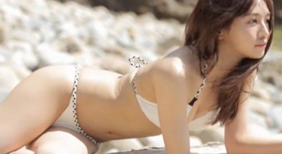 傳谷英里香 白い下着や水着で魅せるナイスプロポーション