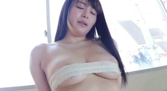 藤崎真帆 疑似セックスのあと股間をまさぐり喘ぎます
