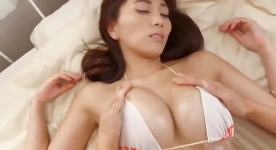 森咲智美 マッサージからの甘い吐息を漏らす疑似セックス