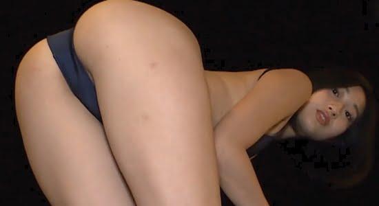早川みゆき ハイレグ水着で魅せるプリ尻とスレンダー美脚