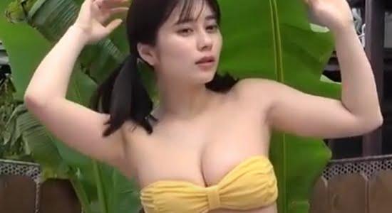 大久保桜子 ビキニや下着で魅せるエロムチボディ