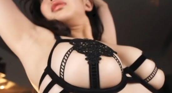 丹由美子 セクシーな黒下着に包まれたナイスなおっぱい